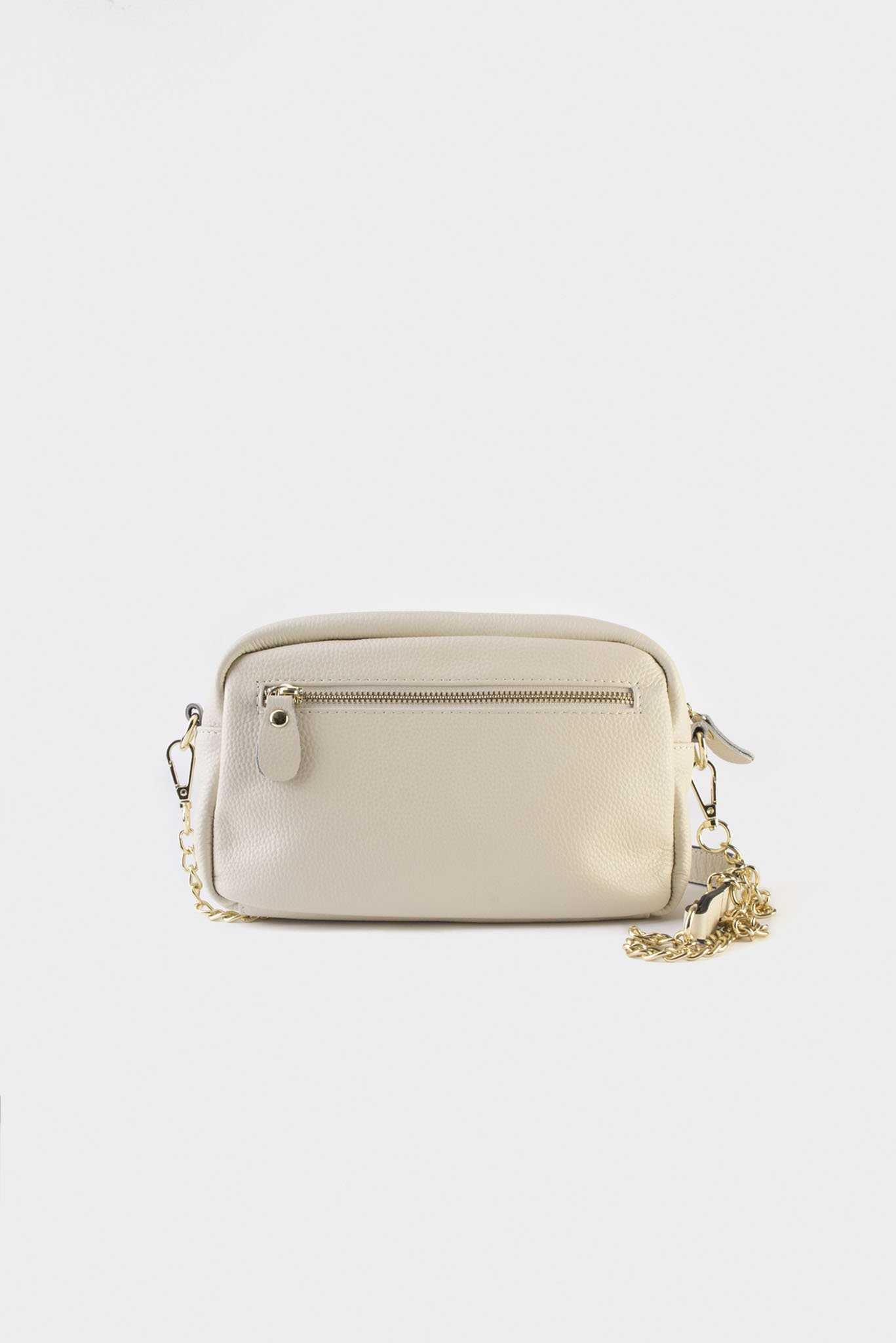 Good Life Clutch - White | Raw Orange