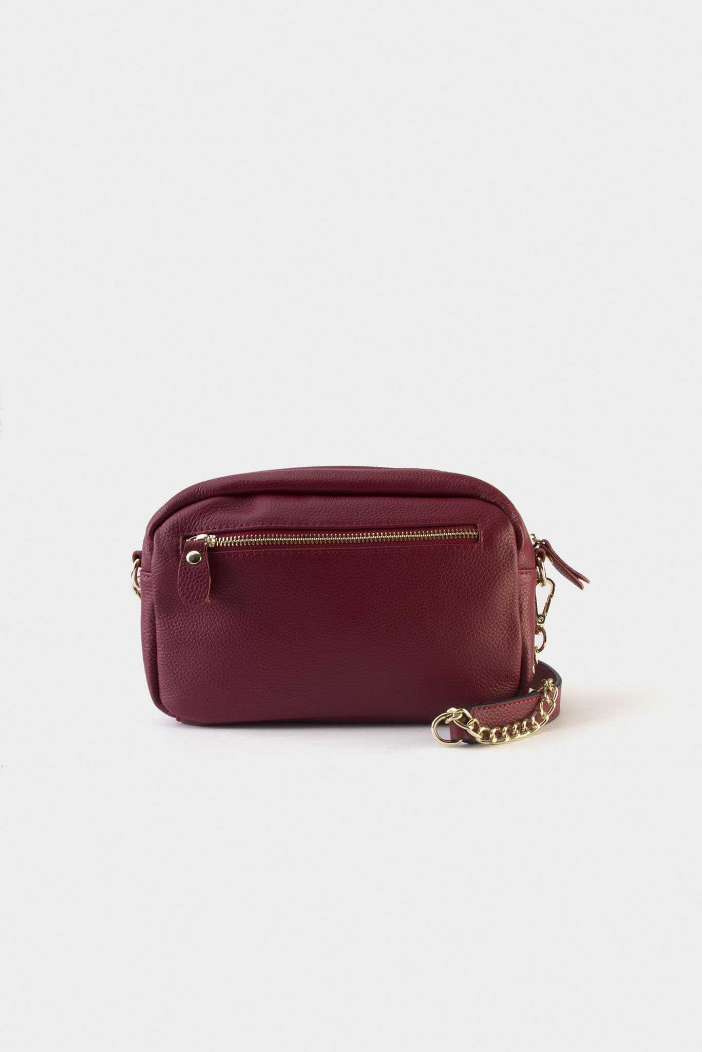 Good Life Clutch - Red | Raw Orange
