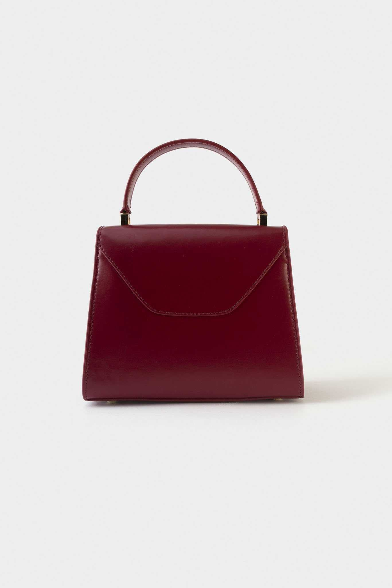 Formal Shoulder Bag - Red | Raw Orange