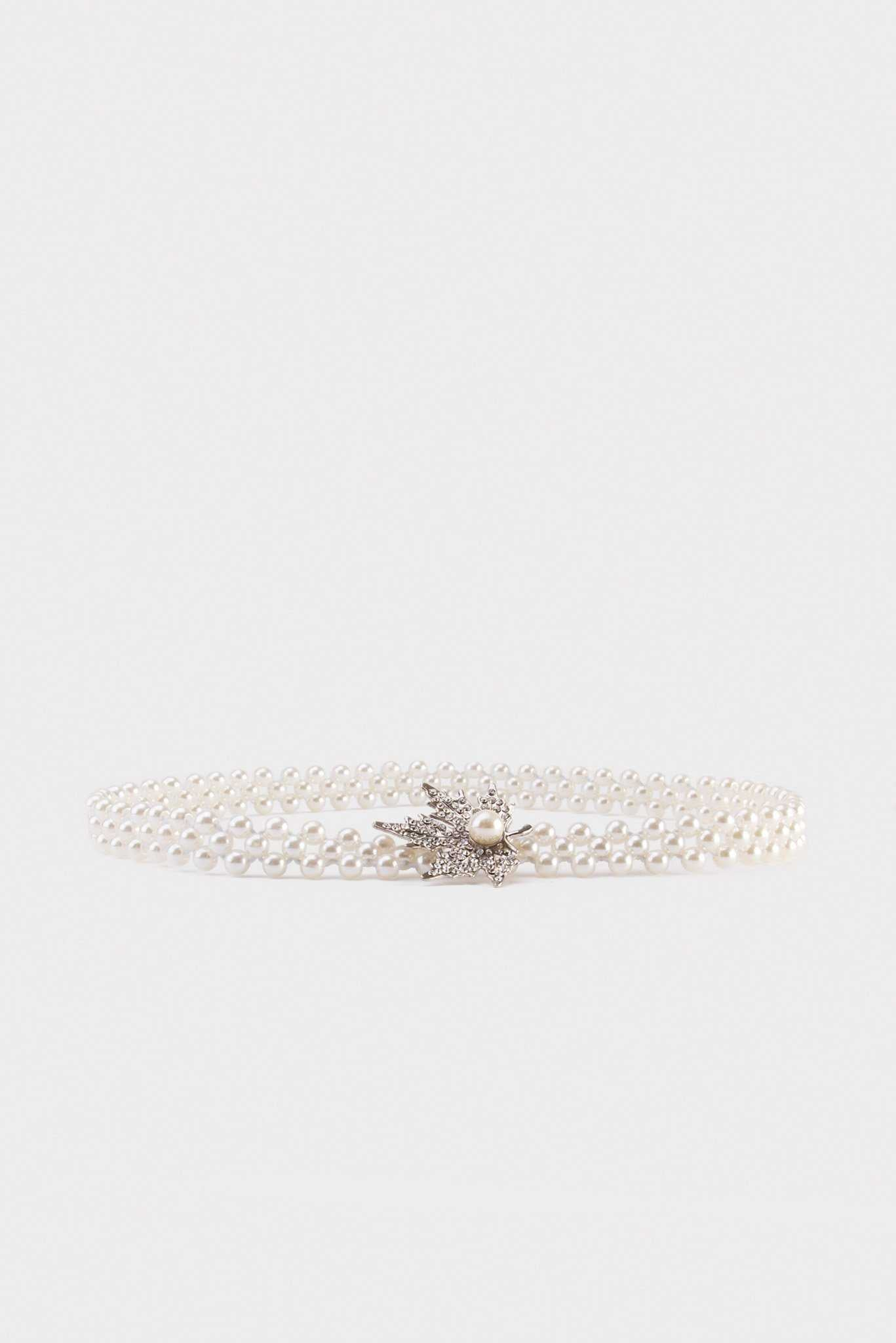 Pearly Waist Belt | Raw Orange