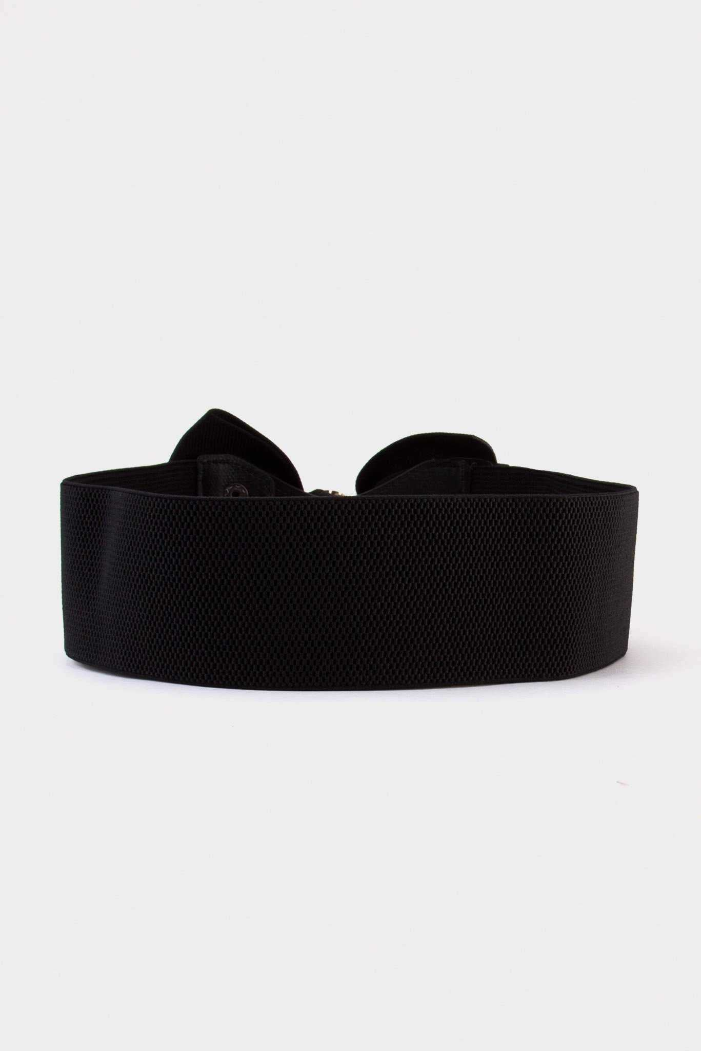 Bow Belt - Black | Raw Orange