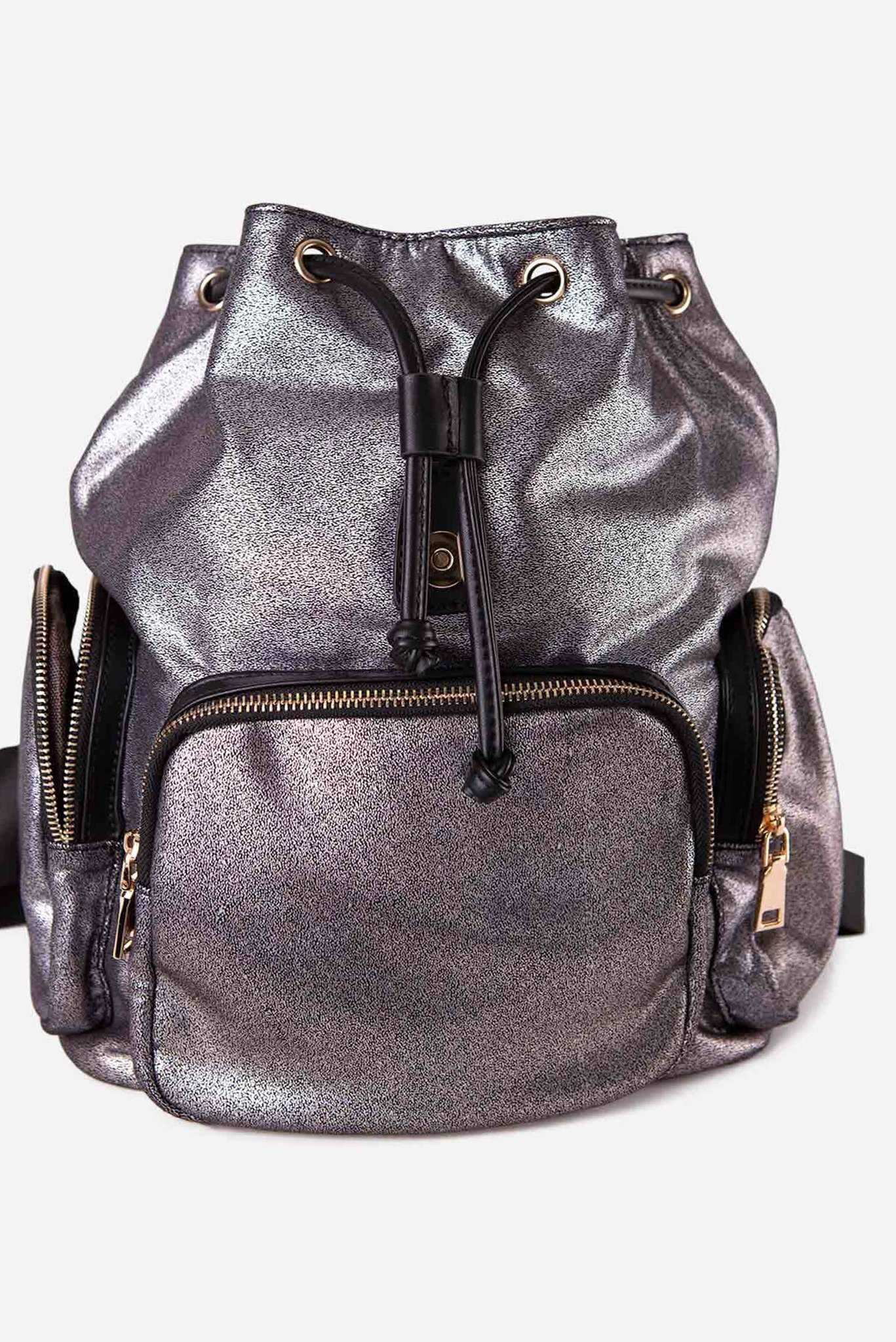 Backpack - Metallic | Raw Orange