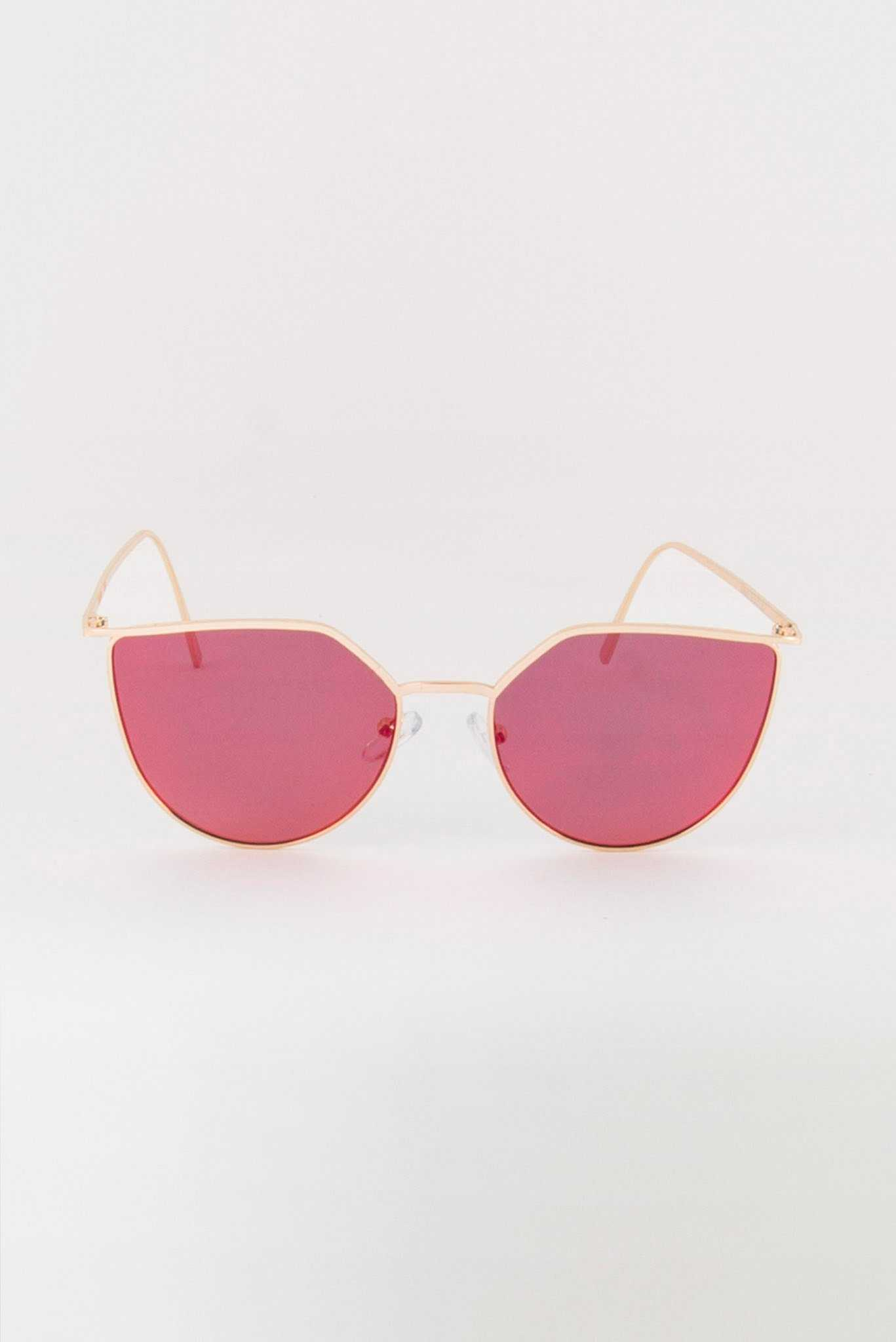 Red Tinted Sunglasses | Raw Orange