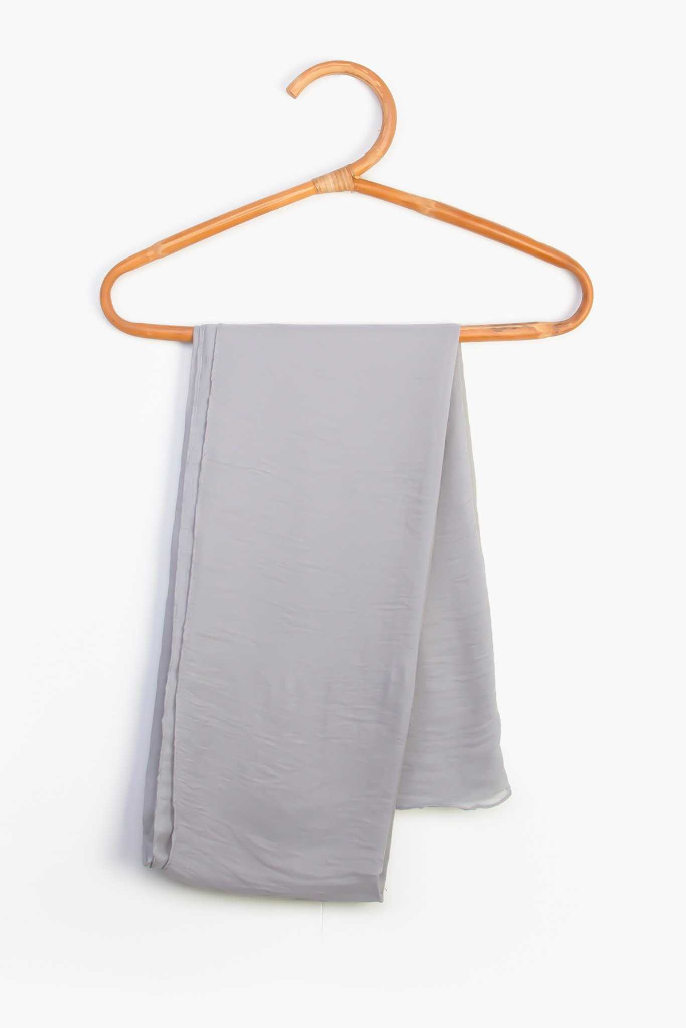 Scarf - Grey | Raw Orange