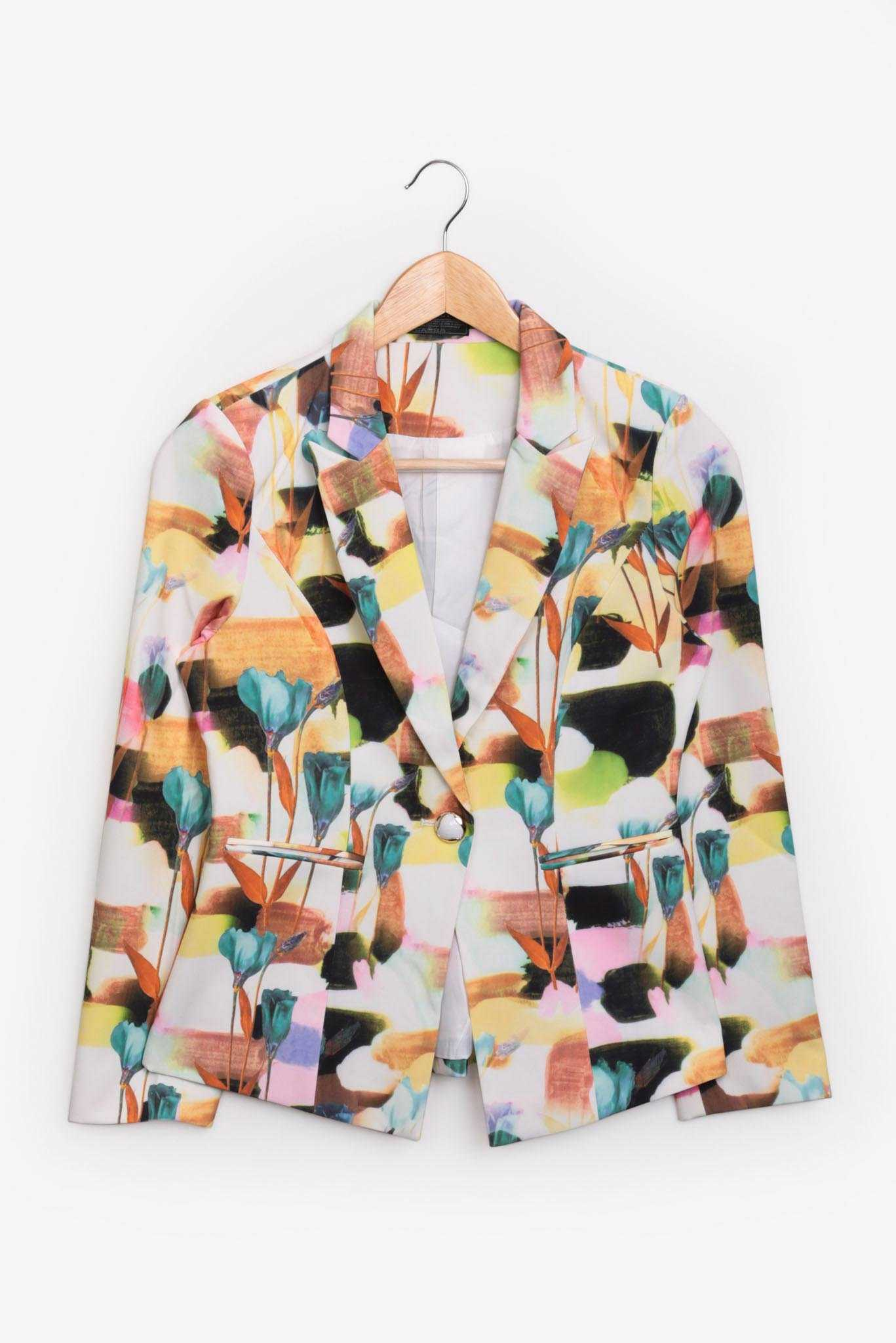 Blazer - Multicolor | Raw Orange