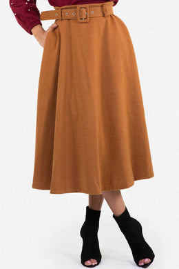 Winter Skirt - Brown