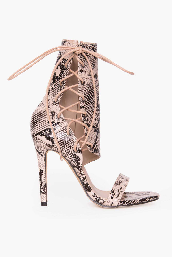 Snake Party Stilettos