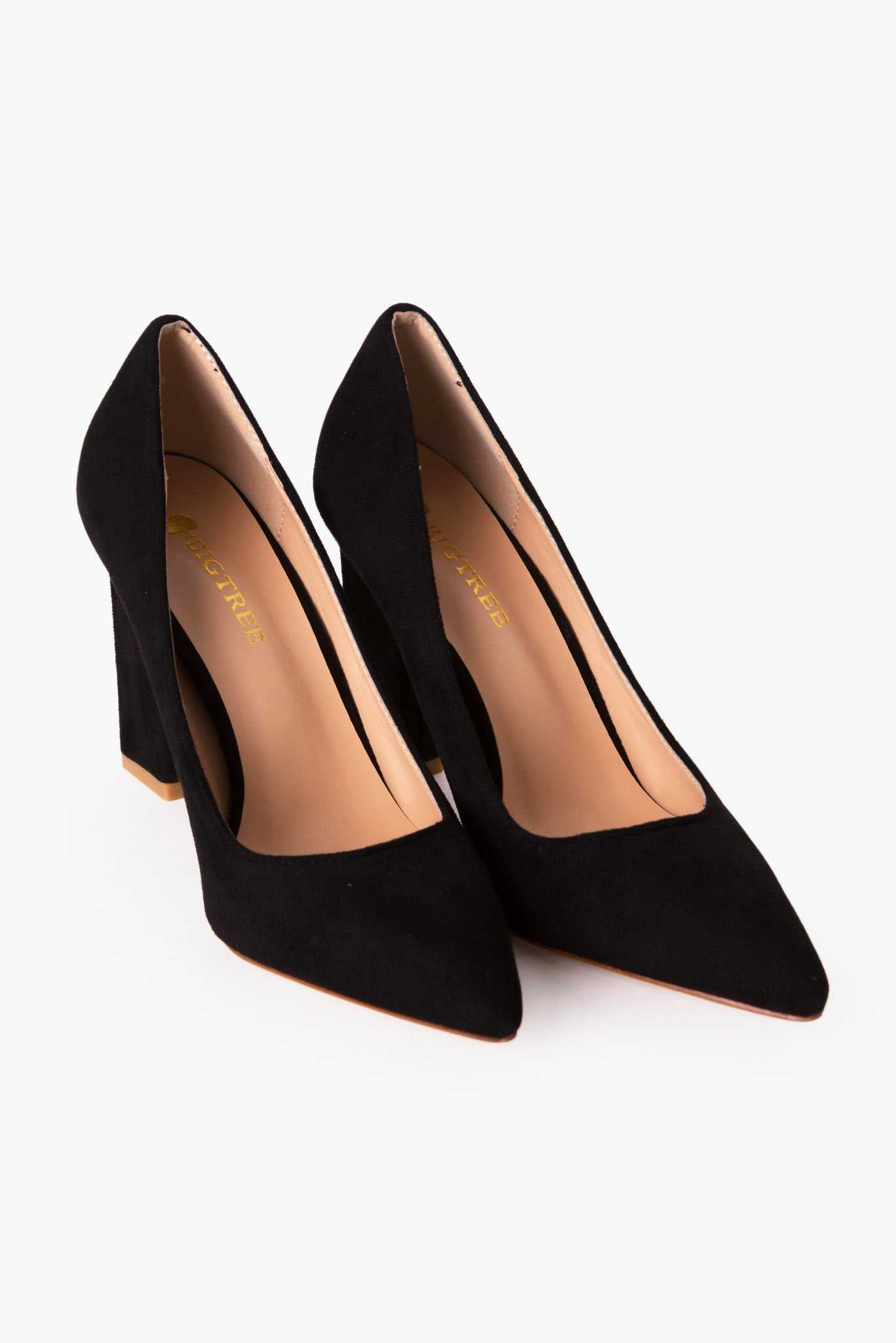 Basic Pumps - Black | Raw Orange