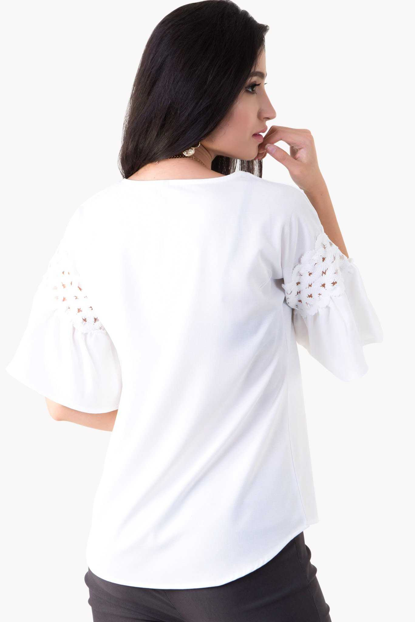 Marissa Top - White | Raw Orange