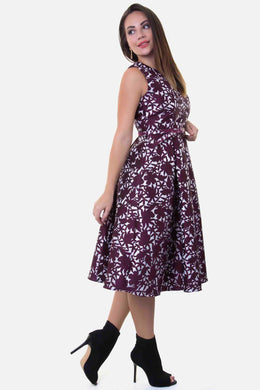 Fit & Flare Dress - Floral