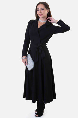 Trench Dress - Black