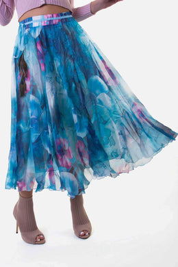 Long Skirt - Blue