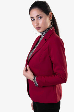 Formal Blazer - Red | Raw Orange