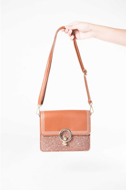 Gigi Bag Brown | Raw Orange