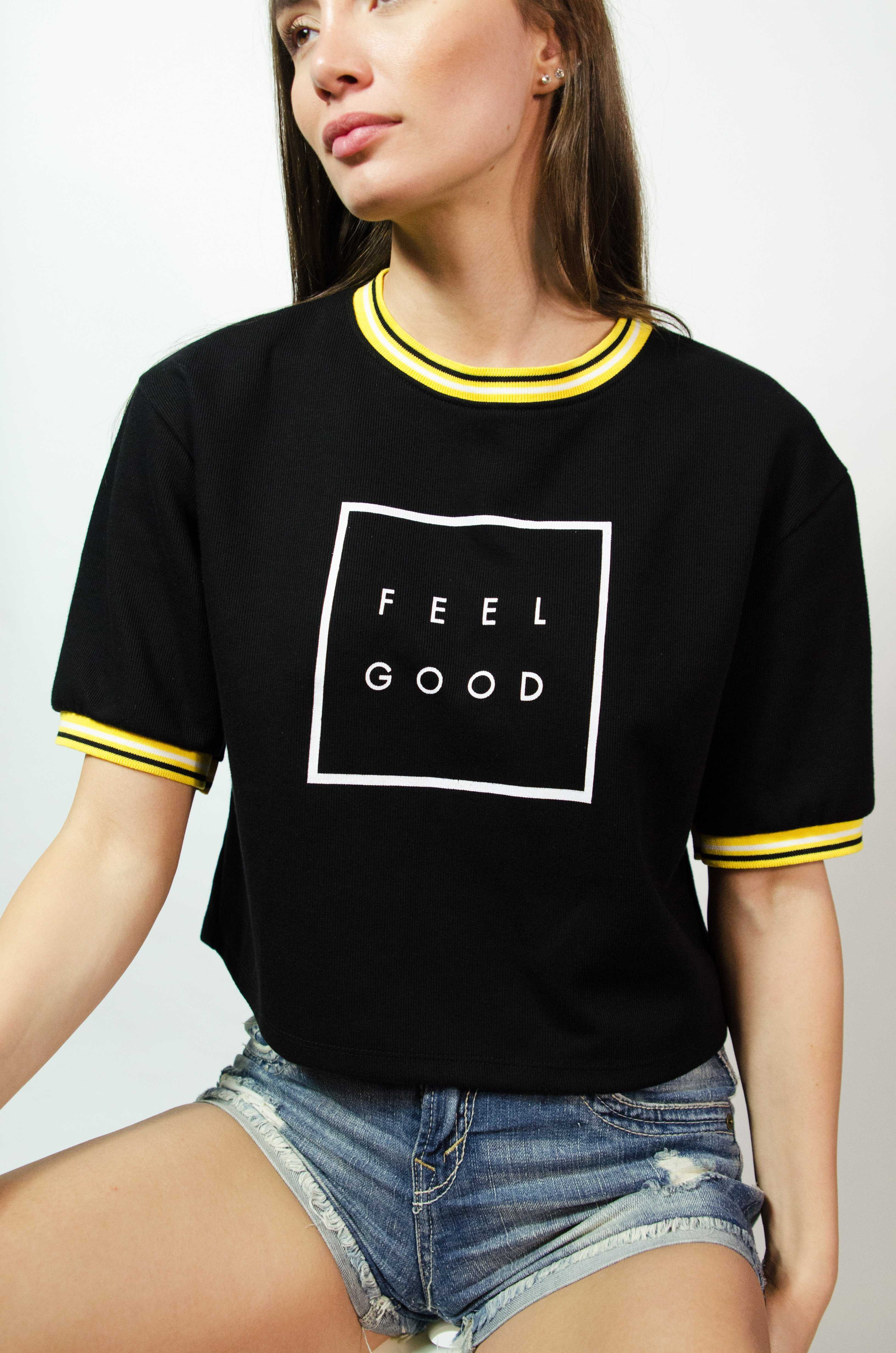 Feel Good Top | Raw Orange