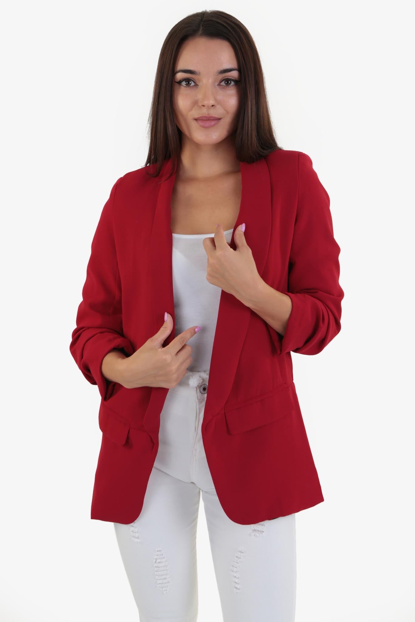 blazer red | Raw Orange
