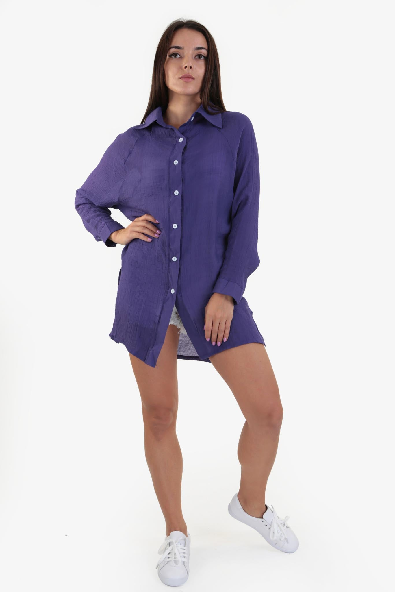Summer Shirt - Purple
