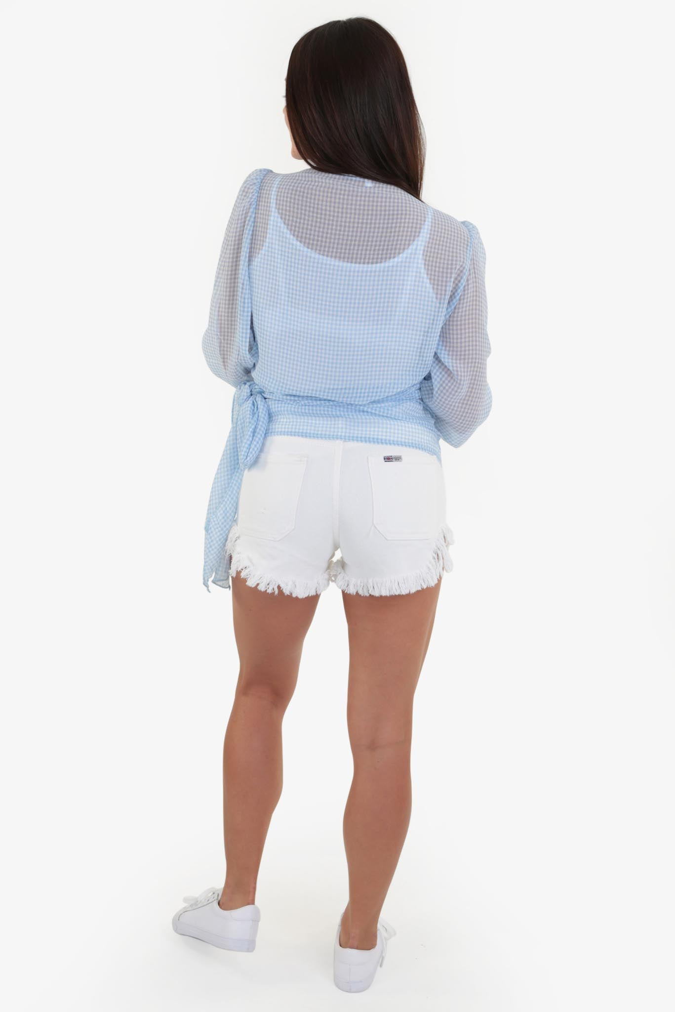 Summer Top - Blue | Raw Orange