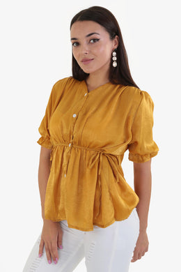 Summer Blouse - Yellow