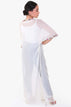 Long White Kaftan