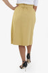 Midi Skirt - Mustard | Raw Orange