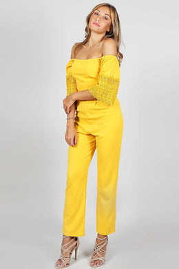 Mango Jumpsuit | Raw Orange
