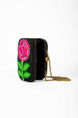Evening Clutch Minaudiere Floral