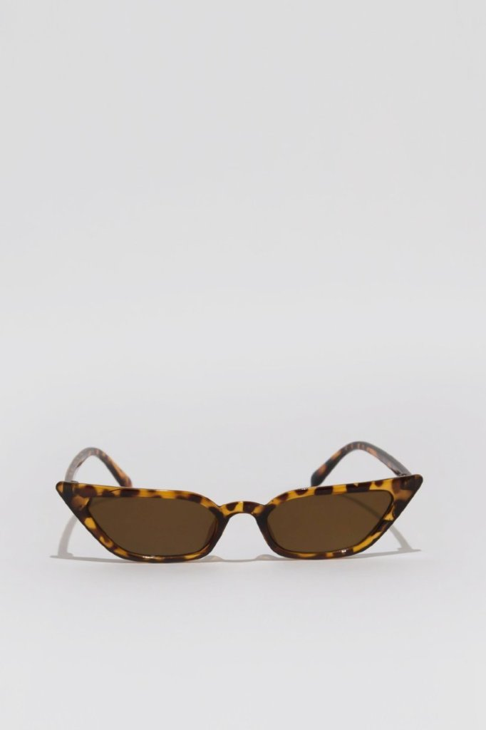 Marianne cat-eye Sunglasses | Raw Orange
