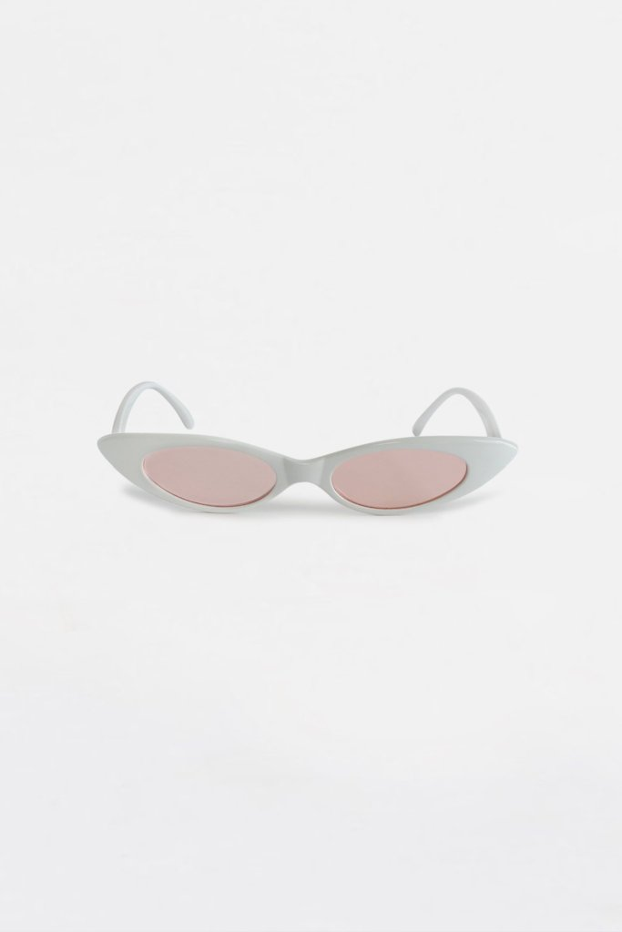 Lolita Oval Sunglasses Pink | Raw Orange