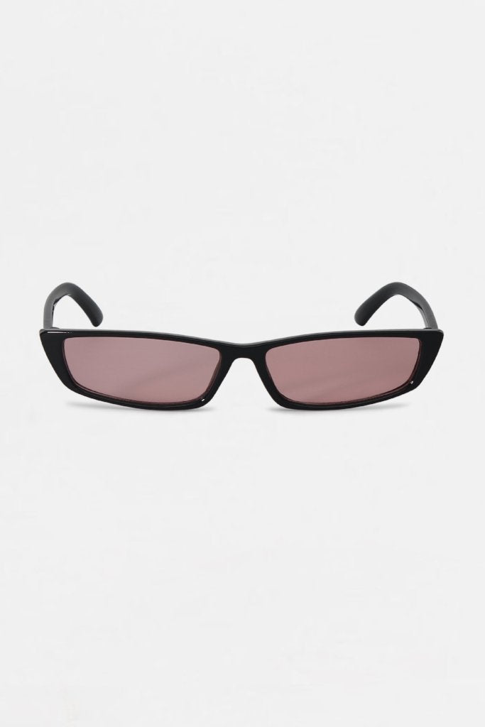 Retro Pink Tinted Frame Sunglasses | Raw Orange