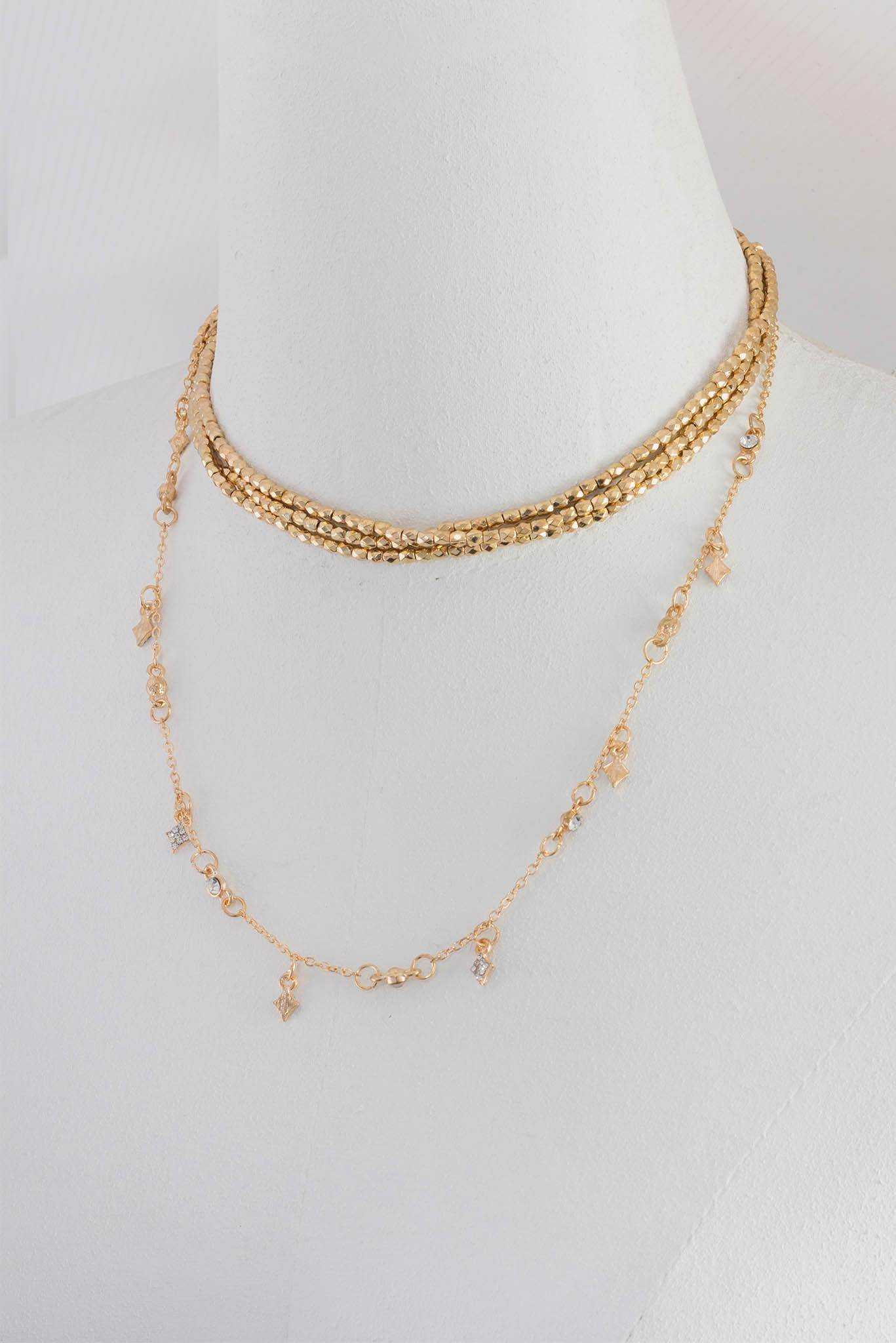 Star Choker | Raw Orange