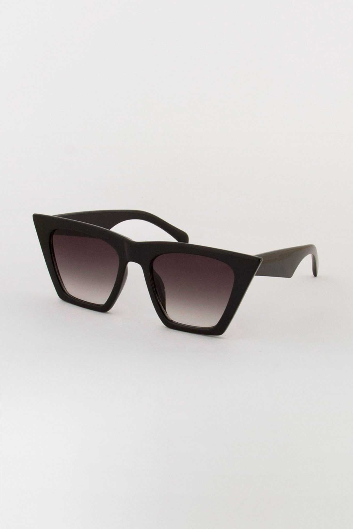 Solid Unibrow Sunglasses | Raw Orange