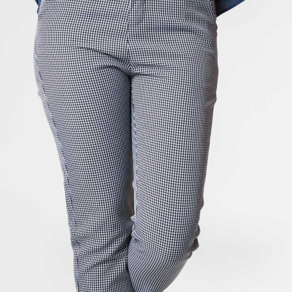 Gina Gingham Pants | Raw Orange