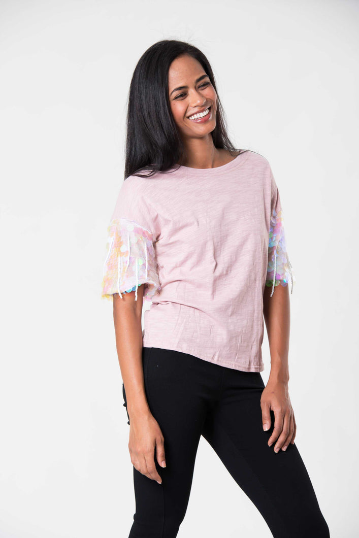 Disco Day Tee Pink