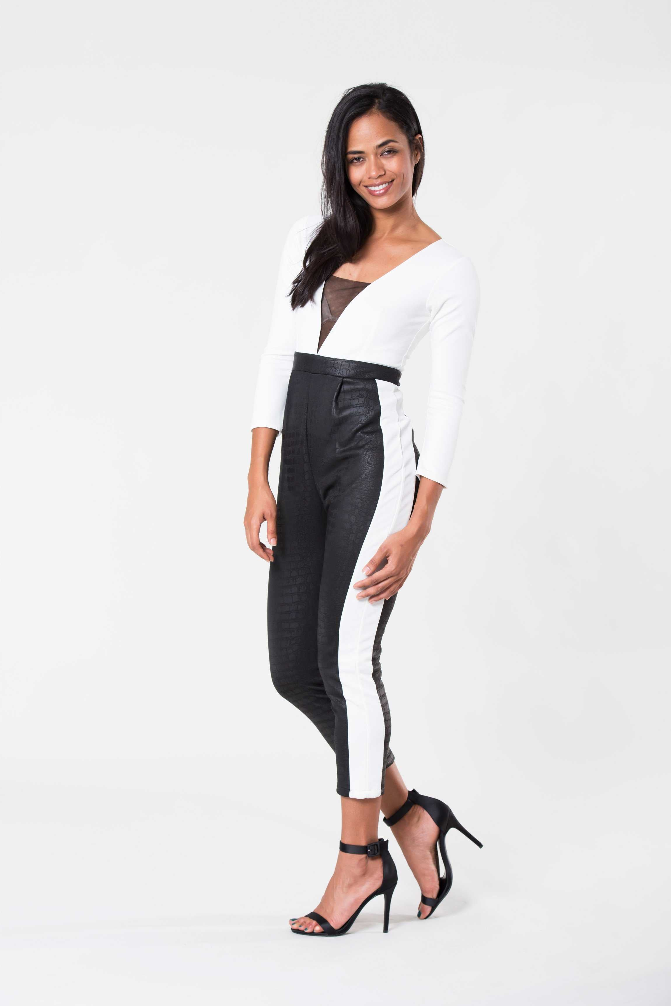 Monochrome Jumpsuit