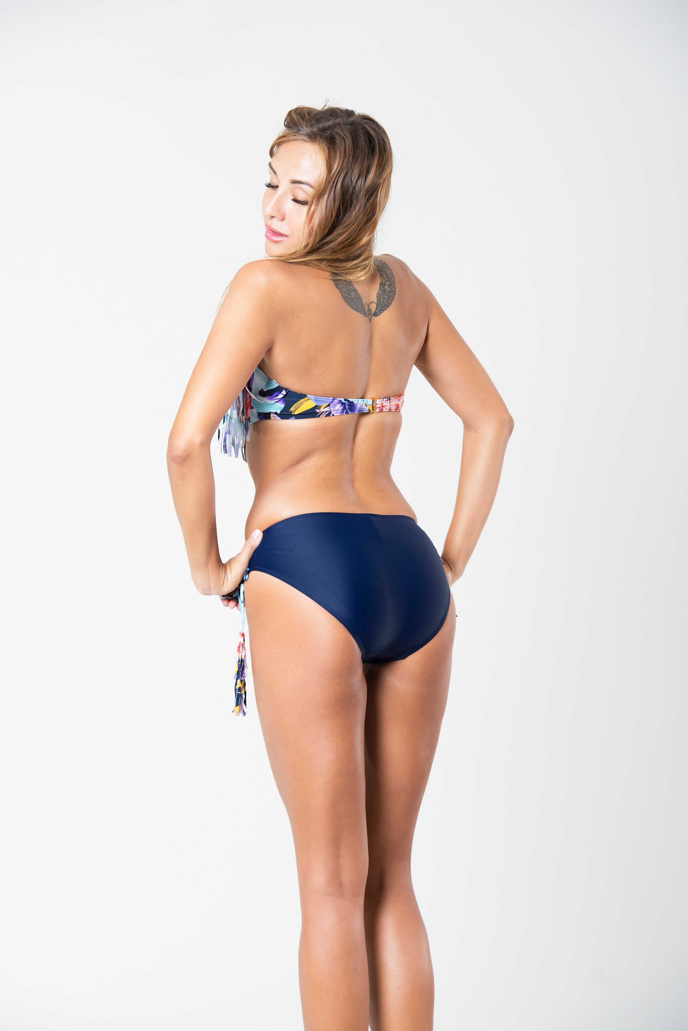 Blue Bay Bikini | Raw Orange