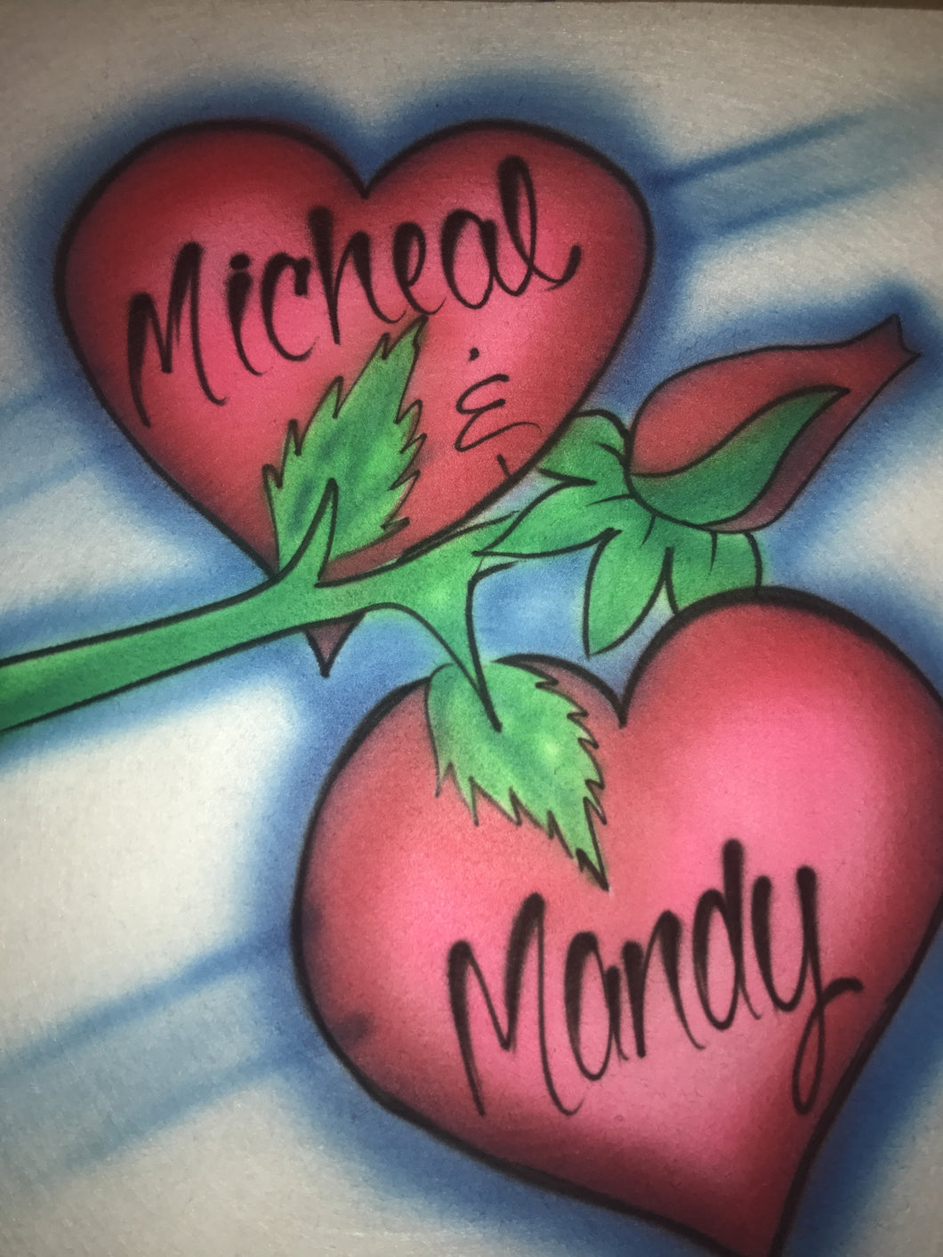 Airbrushed T-Shirt Design #082
