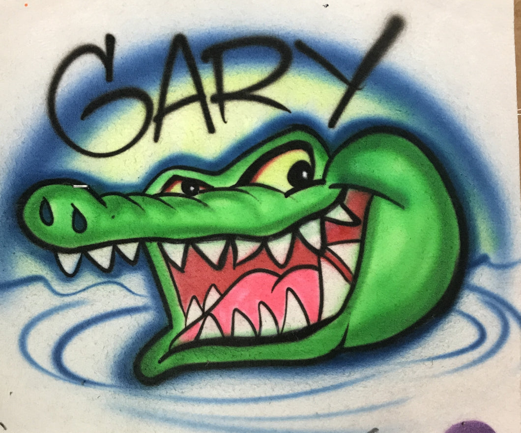 Airbrushed T-Shirt Design #085