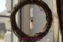 Rose Quarts Amulet Wreath SunCatcher