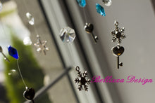 Frozen Crystal Wreath Mobile SunCatcher