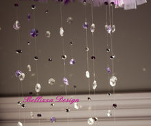 Purple Ballerina Tutu Crystal Mobile