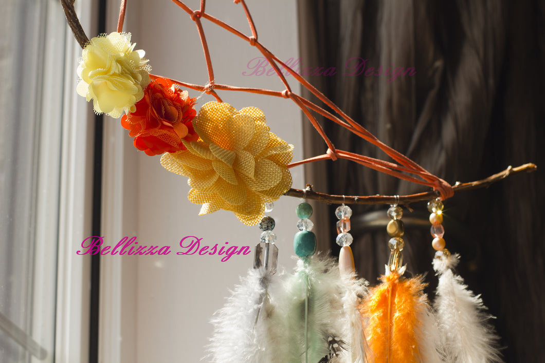 Hawaiian Dream Catcher Hawaiian Dreams Crescent Moon DreamCatcher Bellizza Design 27
