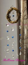 Lucky Seven Evil Eye Wreath Suncatcher