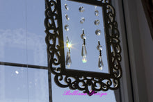 Victorian Framed Chandelier Crystals