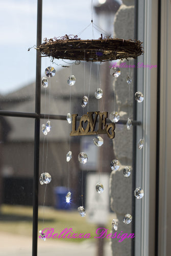 Crystal Love Mobile SunCatcher