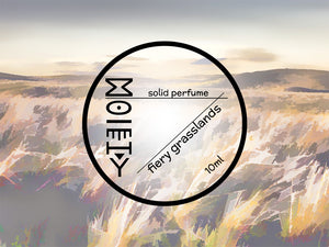 Fiery Grasslands - Solid Perfume