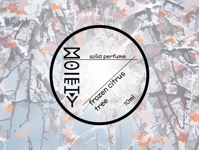 Frozen Citrus Tree - Solid Perfume