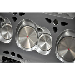 Late Model Engine Brodix BR3 Cylinder Heads, Assembled, CNC