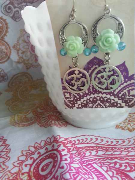 Boho OM Earrings