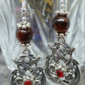 Dragon Knot Earrings